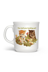 Mug - The Hell You Looking At? (Cat)