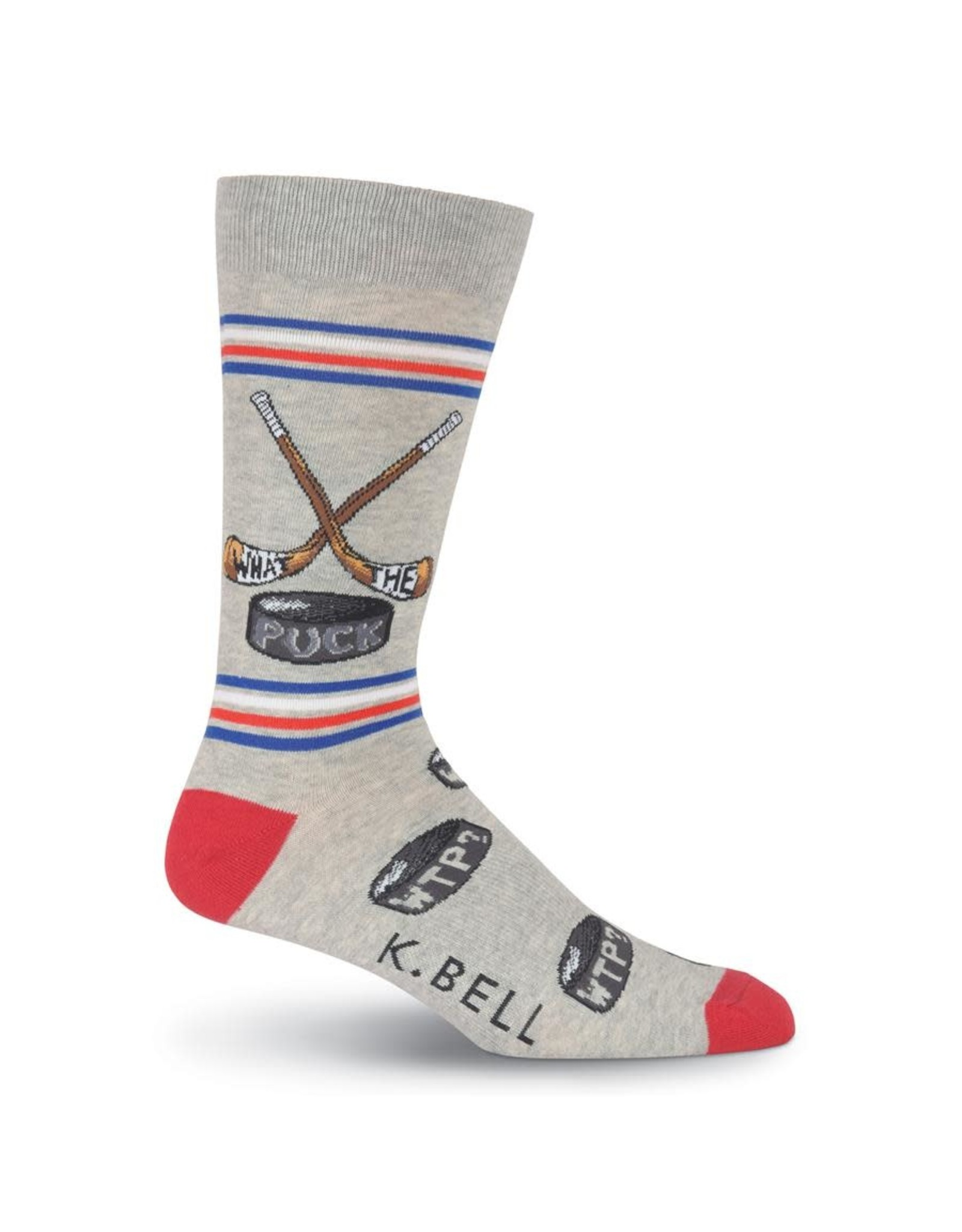 Socks (Mens) - What The Puck - Hockey