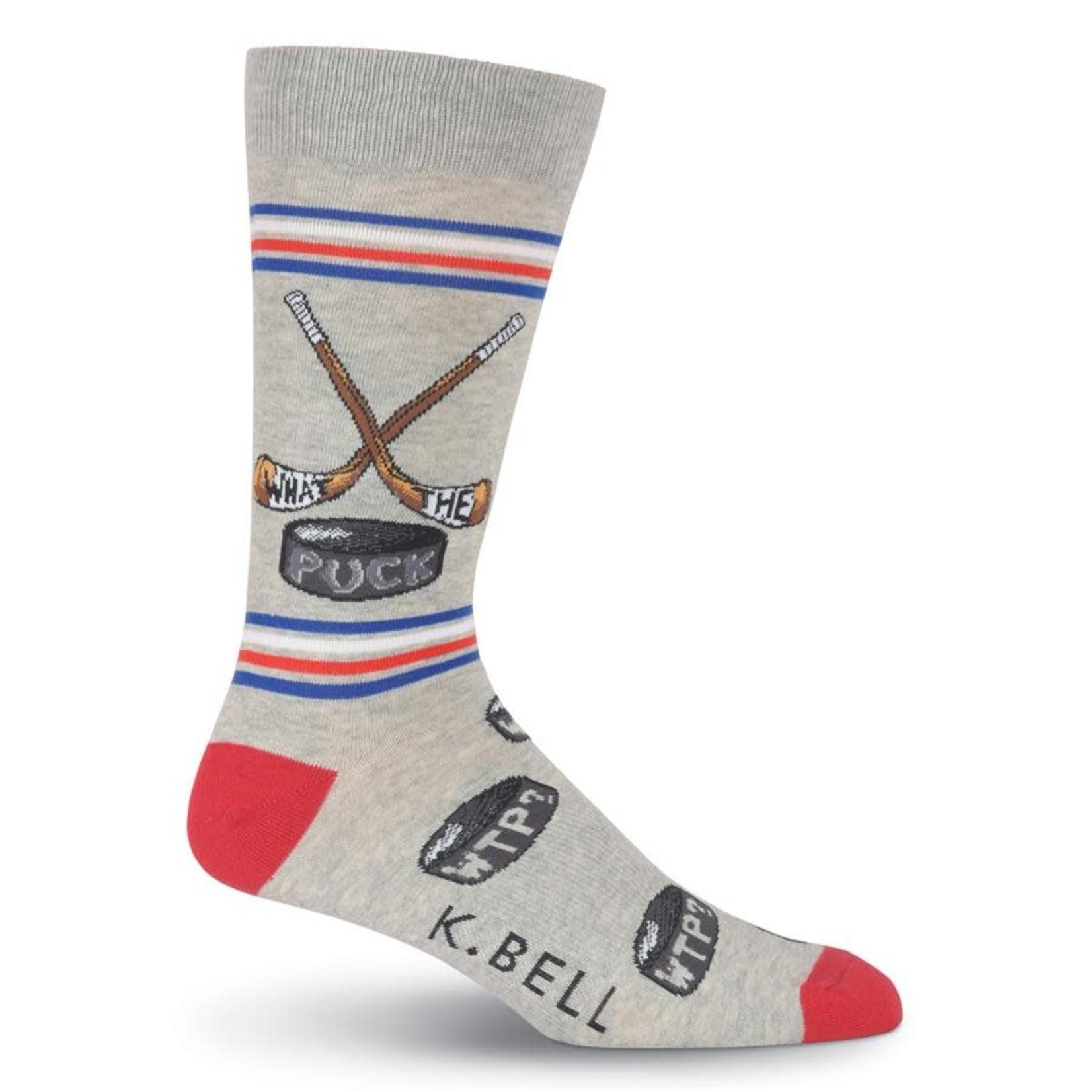 Socks (Mens) - What The Puck - Hockey