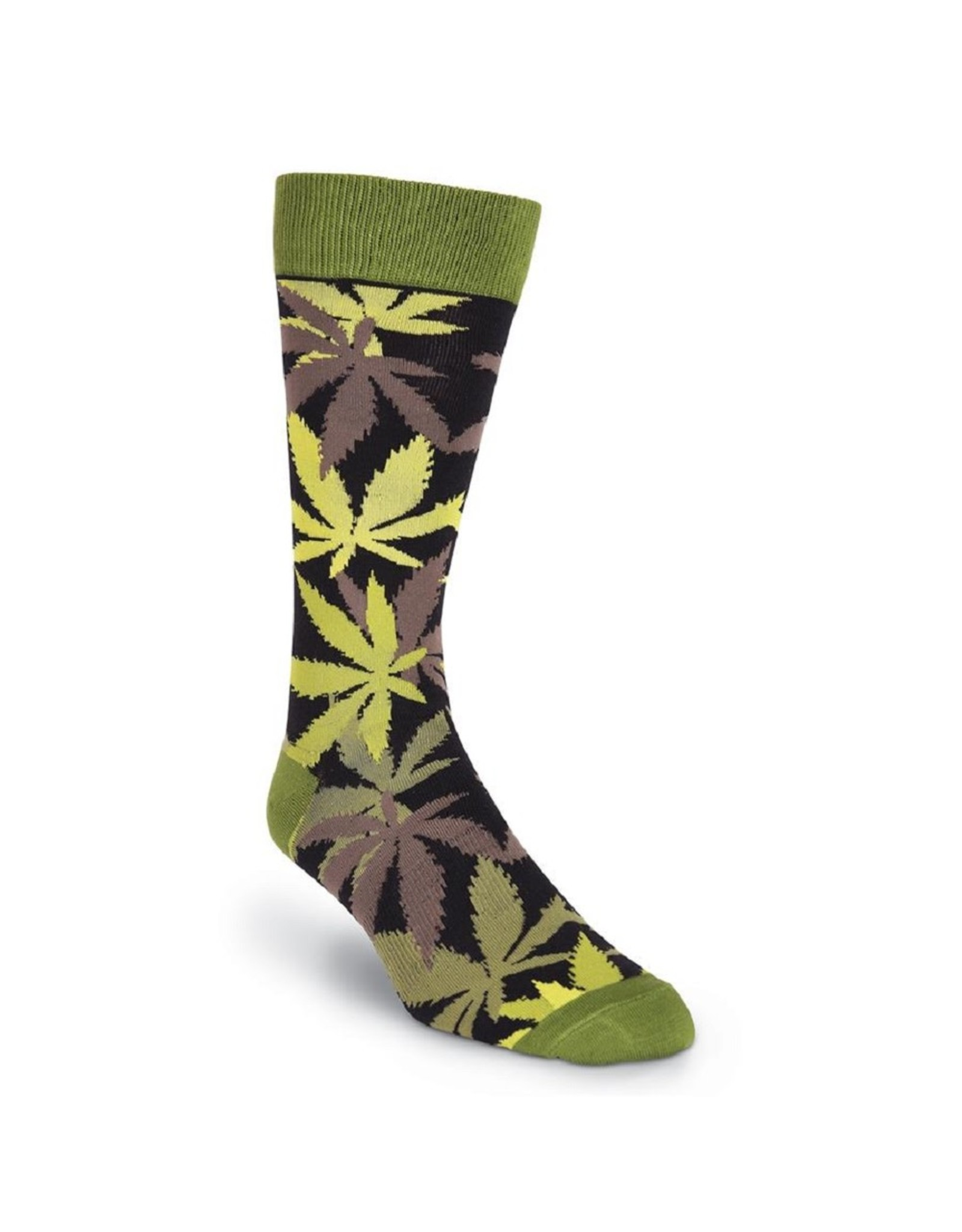 Socks (Mens) - Pot Luck - Pot Leaf