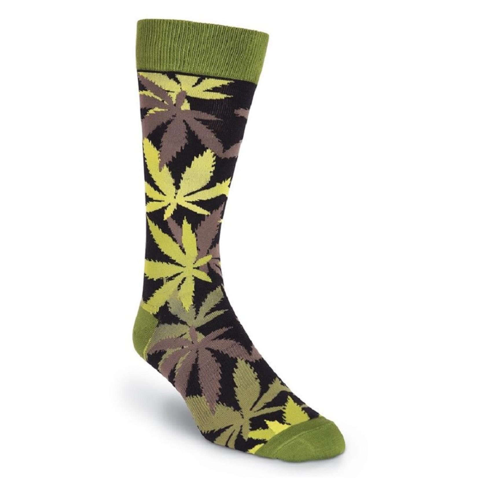 Socks (Mens) - Pot Luck - Pot Leaf