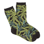Socks (Womens) - Pot Leaf Detail