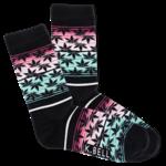 Socks (Womens) - Pot Leaf Sunset