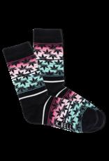 Socks (Womens) Pot Leaf Sunset