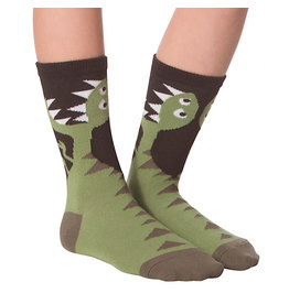 Socks (Kids) - T-Rex