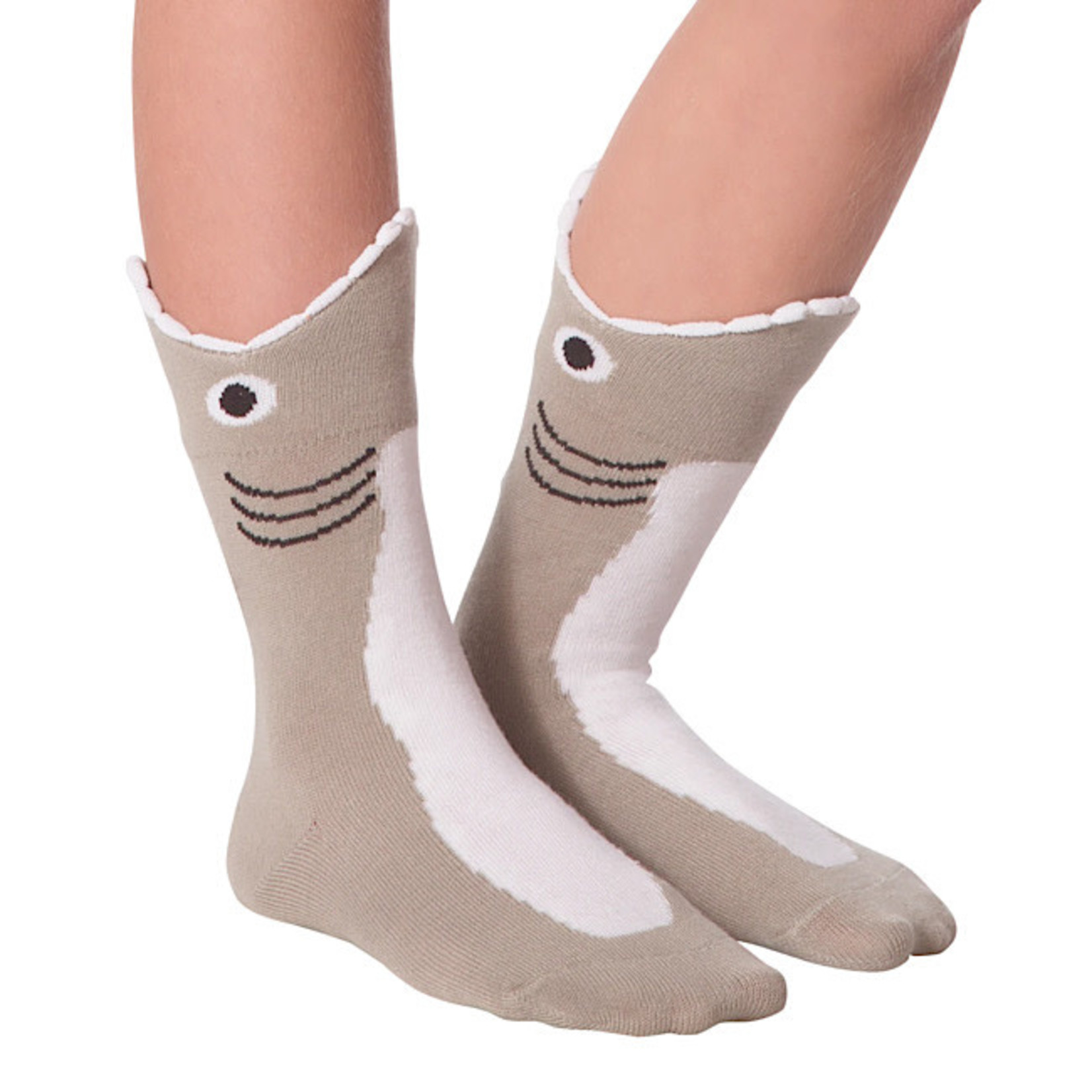 Socks (Kids) - Wide Mouth Shark