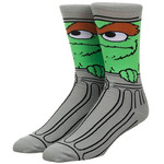 Socks (Mens) - Oscar The Grouch (The Muppets)