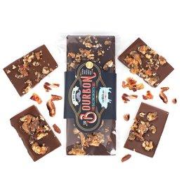 Sweet Pete's Candy Chocolate Bar - Milk Choc Bourbon Bacon
