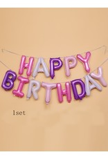Shein Balloons - Happy Birthday Garland