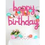 Balloons - Happy Birthday - Fuchsia Set