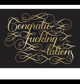 Chronicle Card - Congrat-fucking-lations
