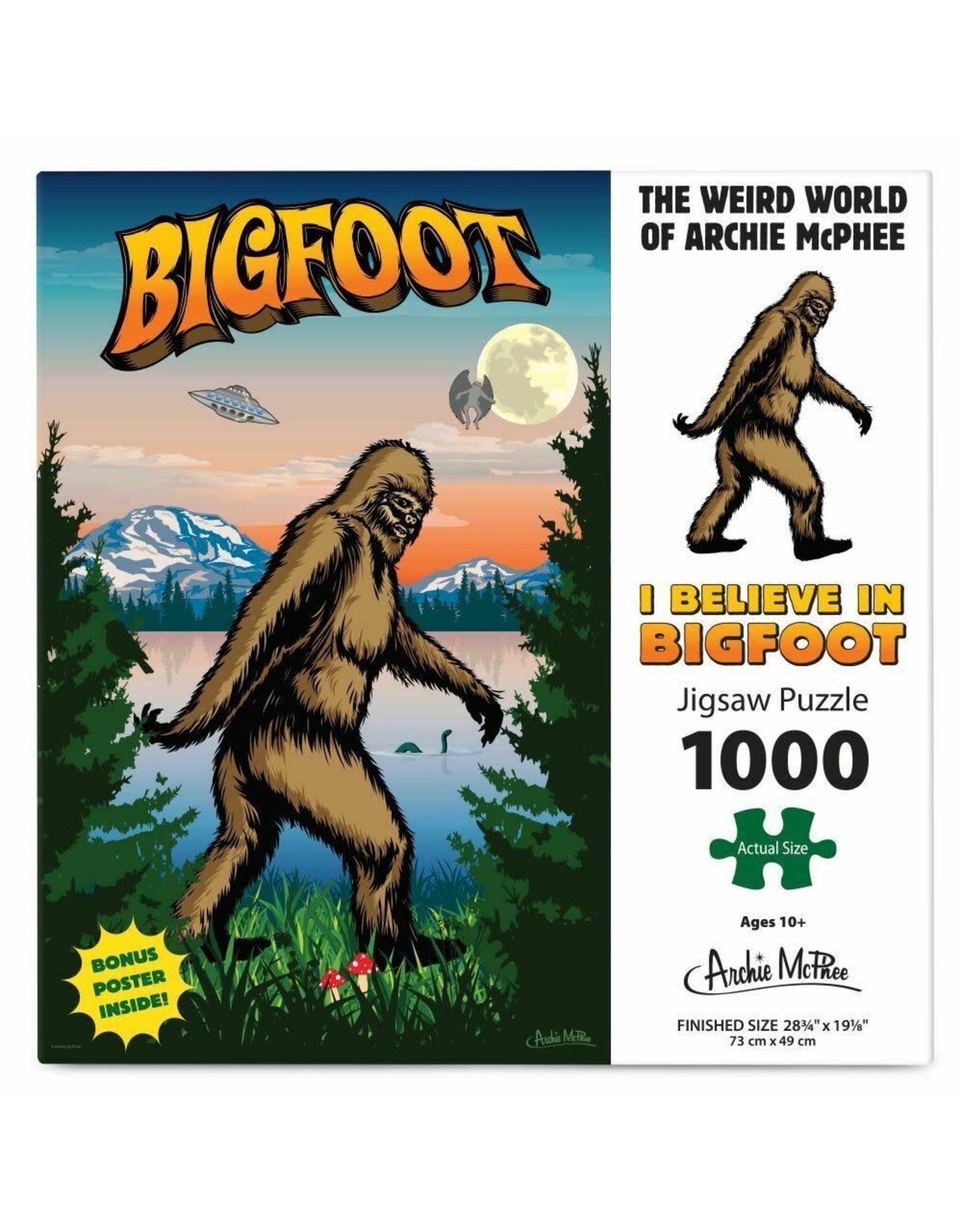 Puzzle - Bigfoot