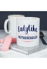 Paper Plane Mug - Ladylike Motherfucker