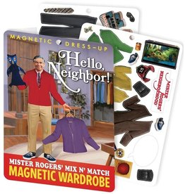 Magnet Set - Mister Rogers Magnetic Dress Up