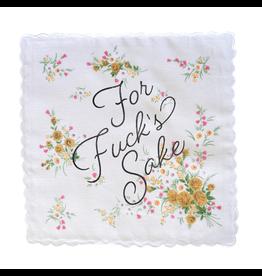 Bold Faced Handkerchief - For Fuck's Sake