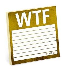 Sticky Note - WTF (Metallic)