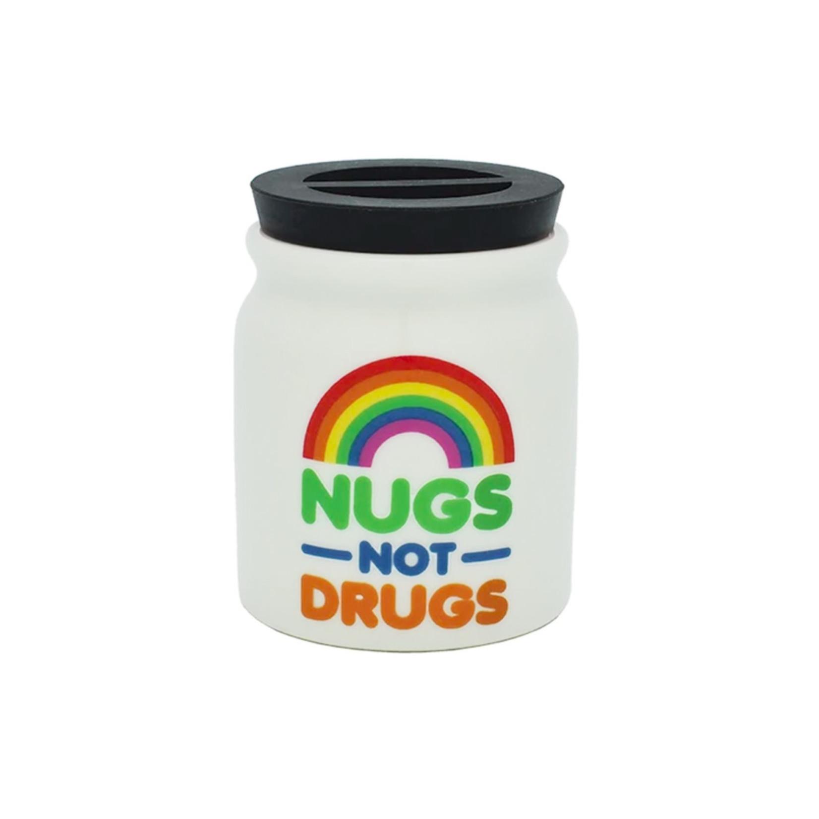 Stash Jar - Nugs Not Drugs