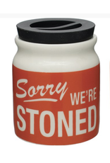 Jars - Stash Jar - Sorry We're Stoned