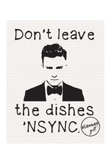 Ellembee Swedish Dish Cloth - Don't Leave Dishes N'SYNC