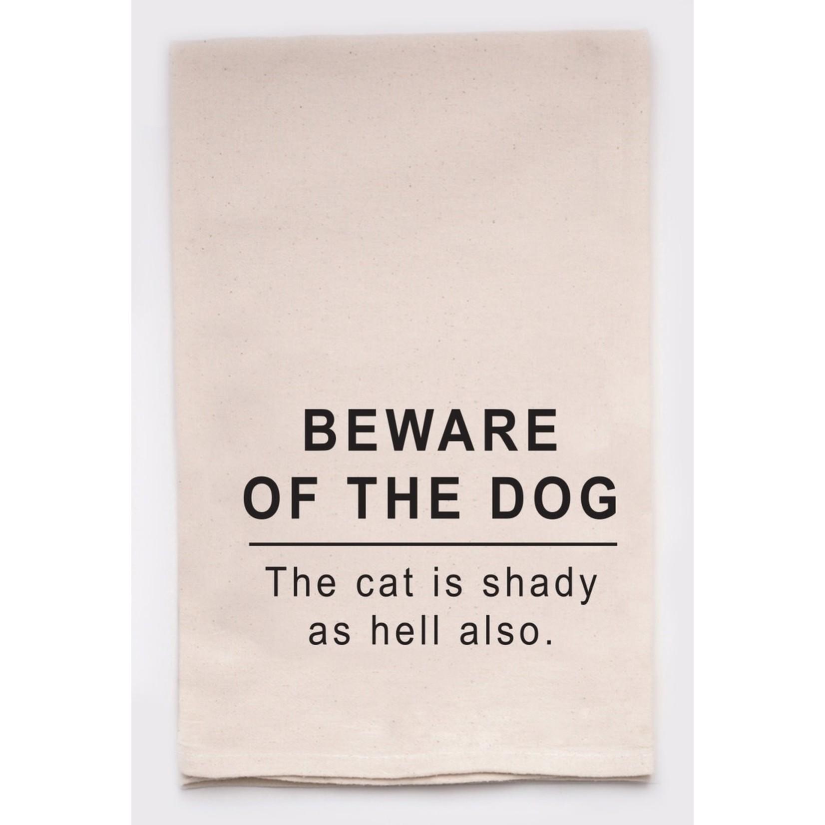 Dish Towel - Beware Of The Dog