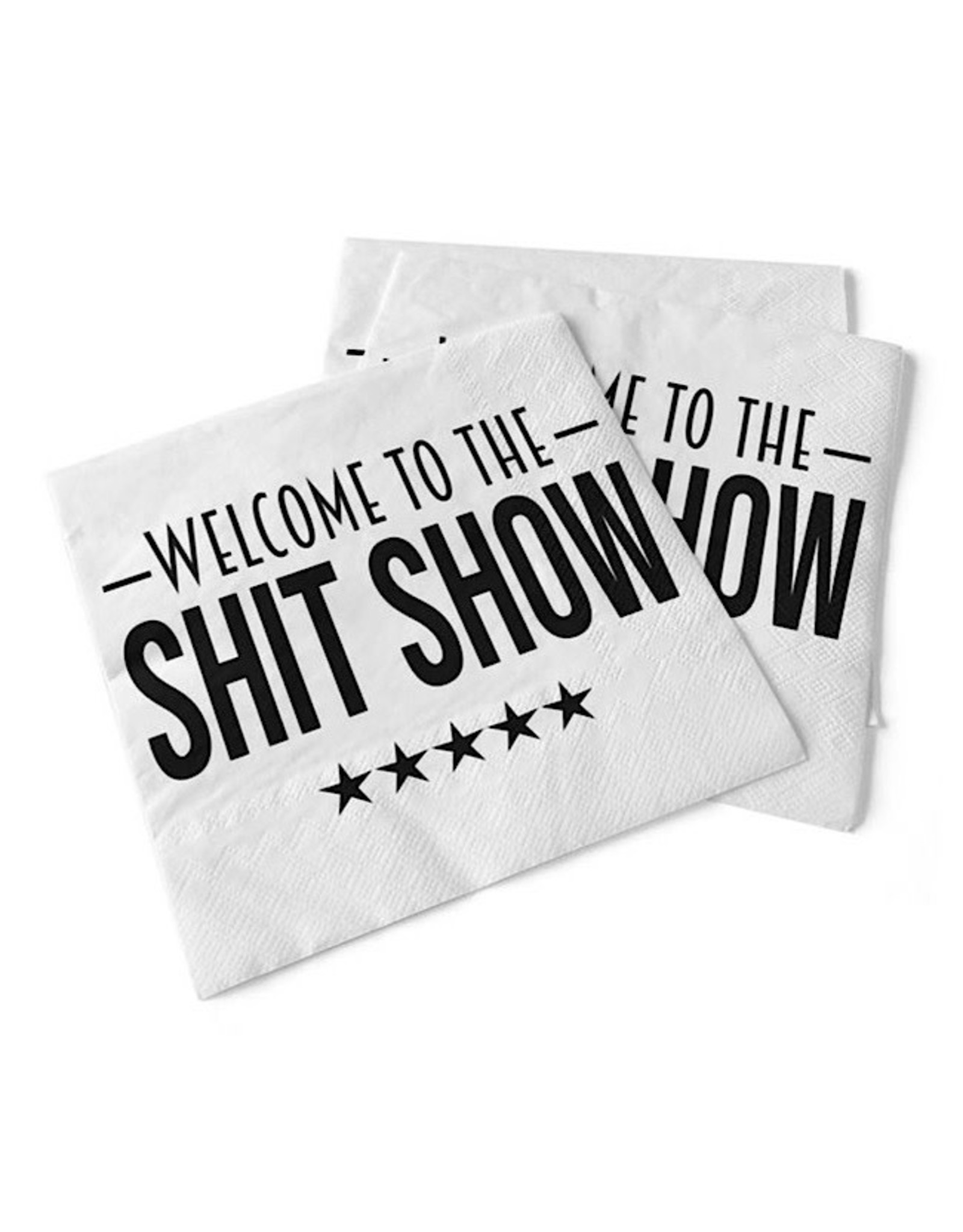 PineTree Innovations Napkins - Welcome To The Shit Show