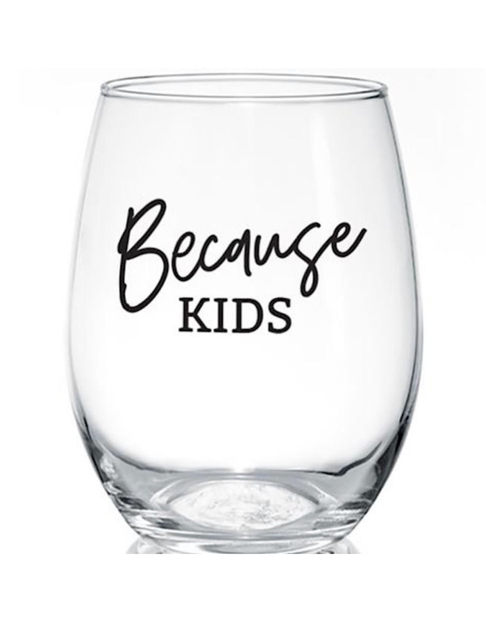 PineTree Innovations Wine Glass - Because Kids