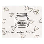 Swedish Dish Cloth - Medium Chunky, Me Too Salsa