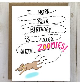 Bangs & Teeth Card - Hope Your Birthday Is Filled With Zoomies