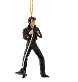 Ornament - Elvis - 2.5 inch Black Outfit