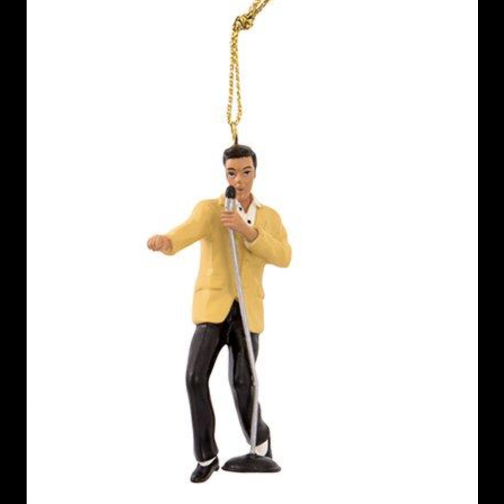 Ornament - Elvis - 2.5 inch Yellow Jacket