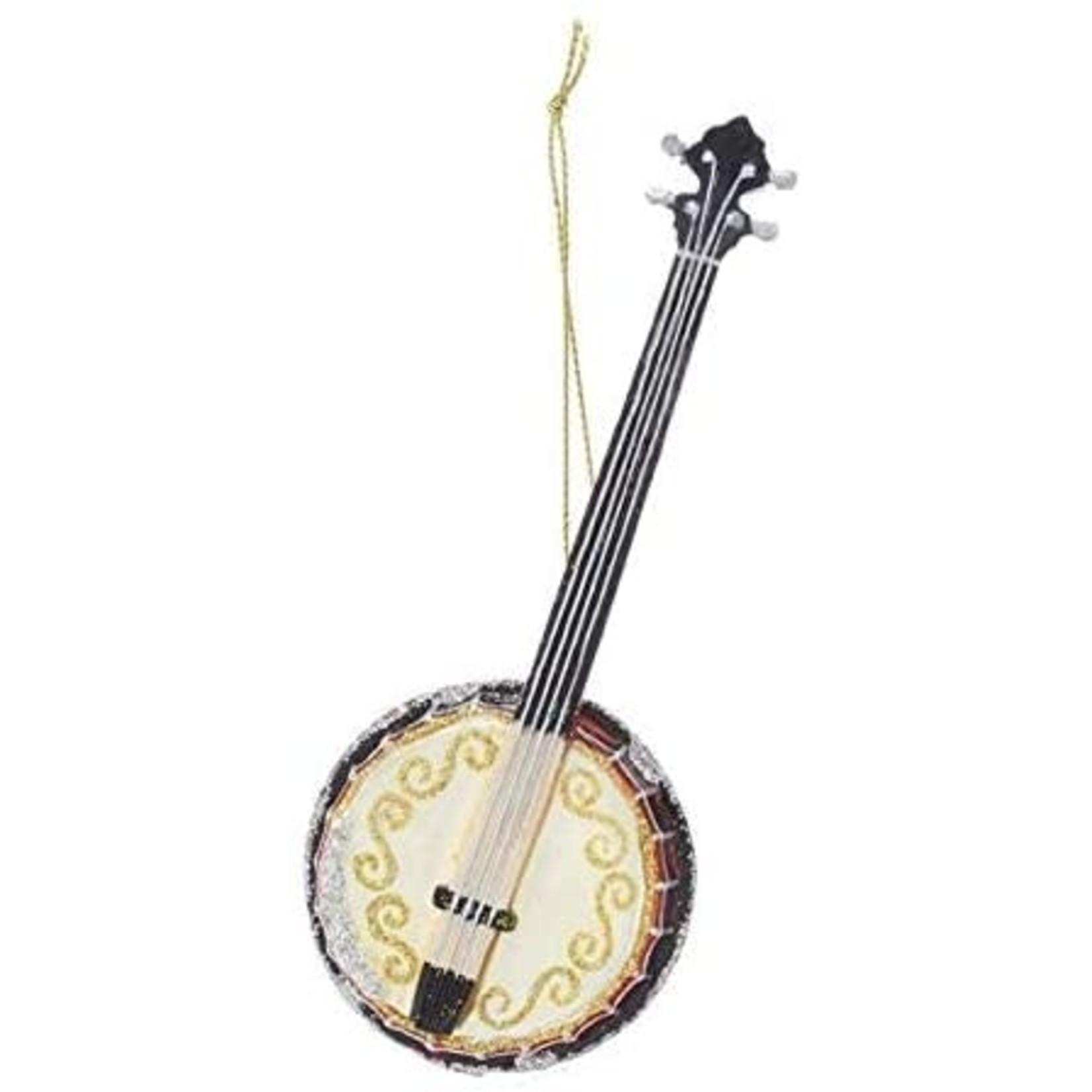 Ornament - Glass Banjo