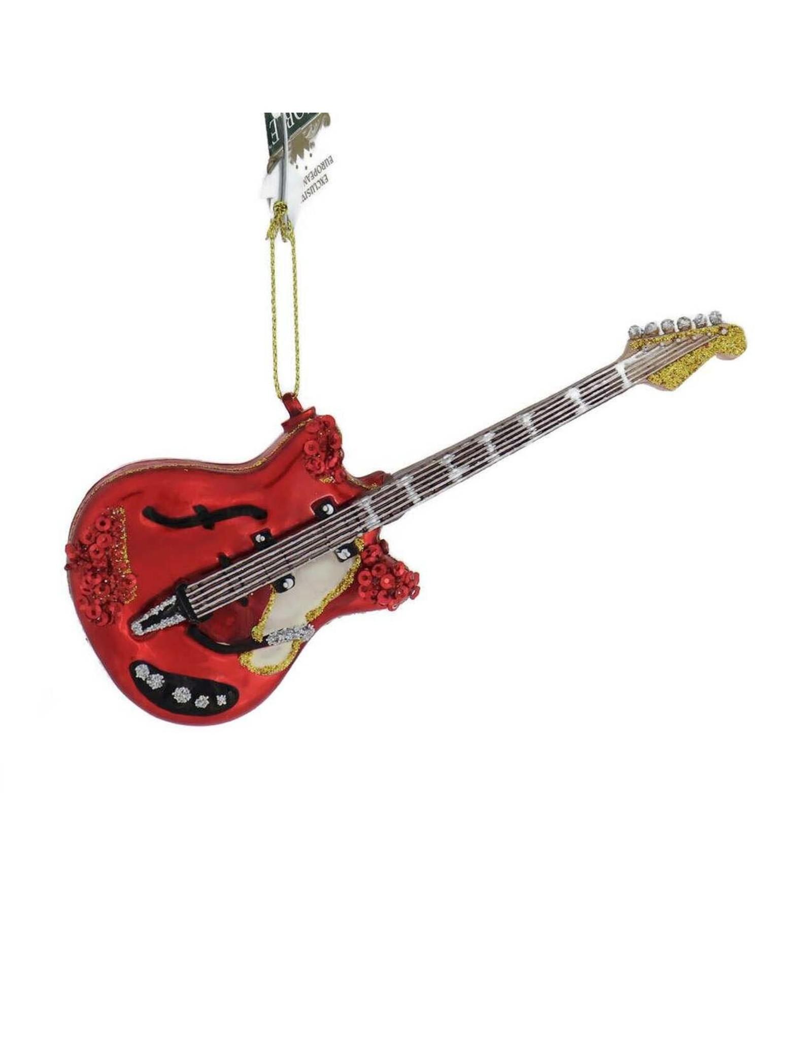 Ornament - Glass Electric Guitar