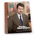 Book (Postcard/Card) - Parks And Rec Ron Swanson