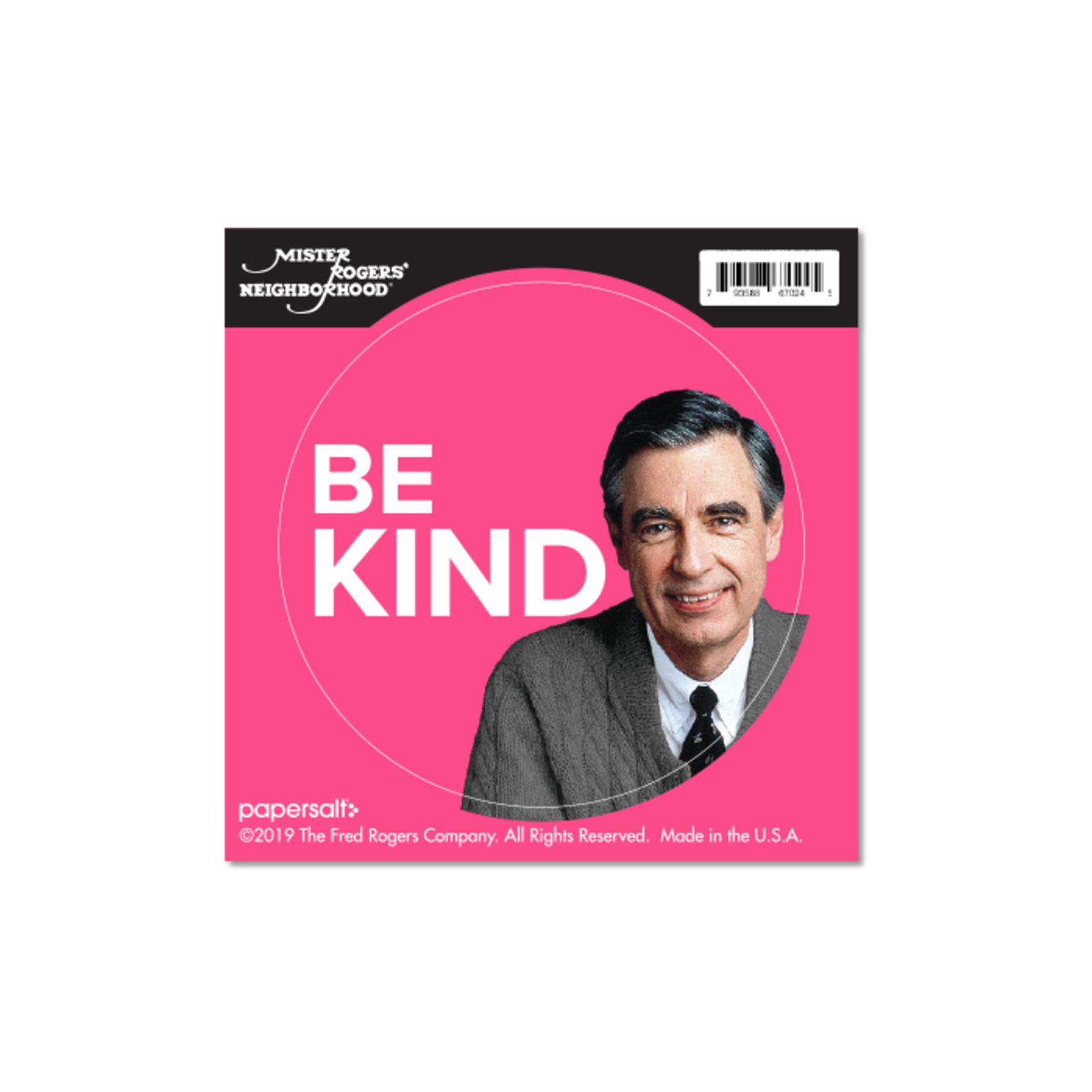 Sticker - Be Kind - Round - Rogers