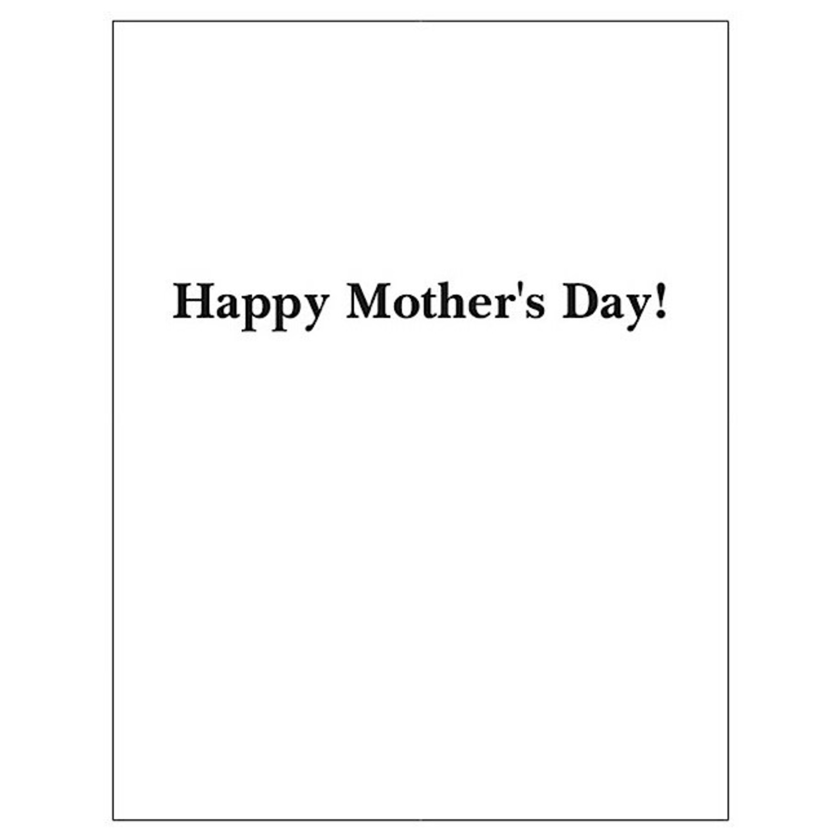 Bad Annie's Card #MD01 - Dear Mom, Thank You For Raising Me To Be A Proper Fucking Grown-up