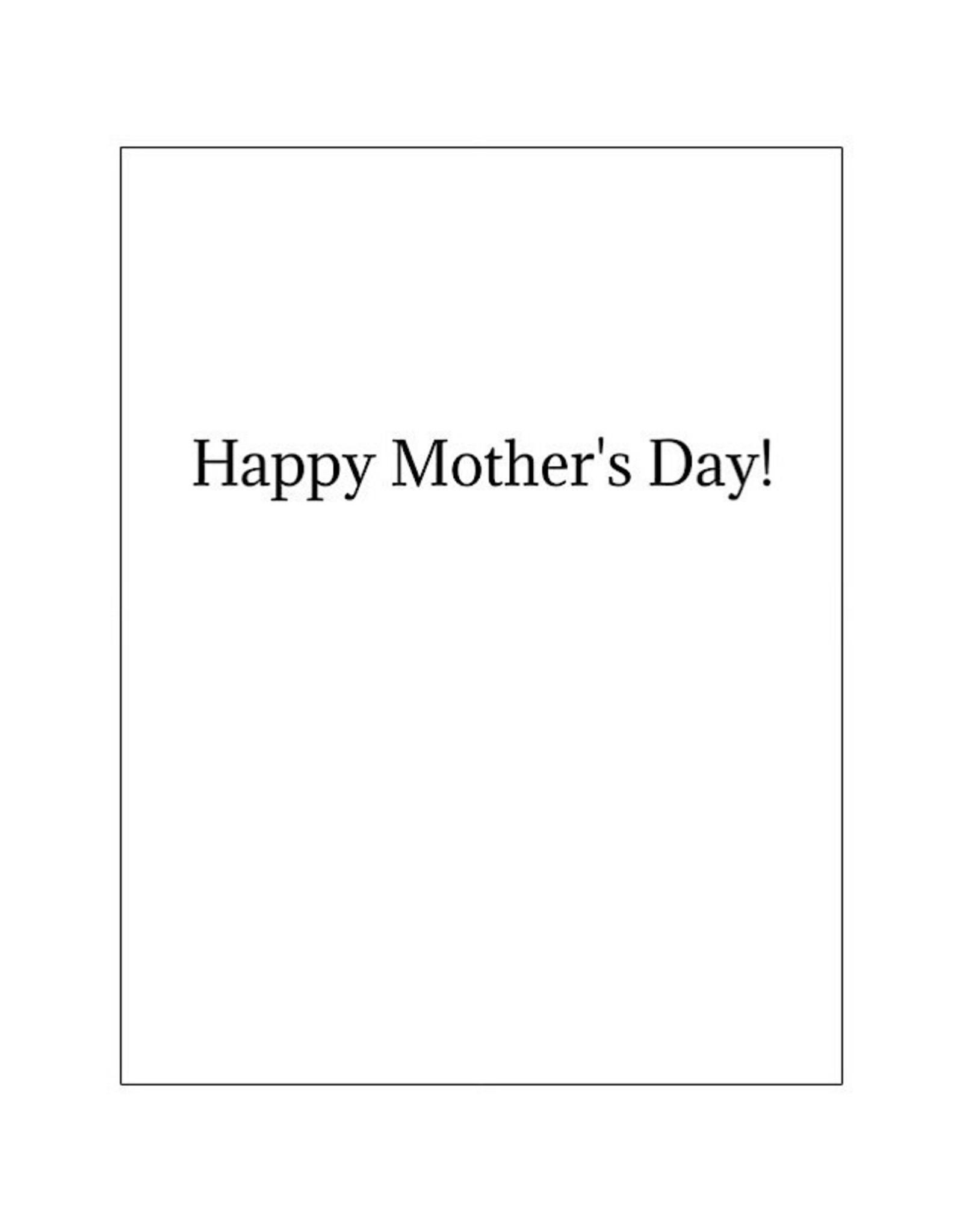 Card #MD02 - Dear Mom, Please Accept This Card In Lieu Of Grandchildren
