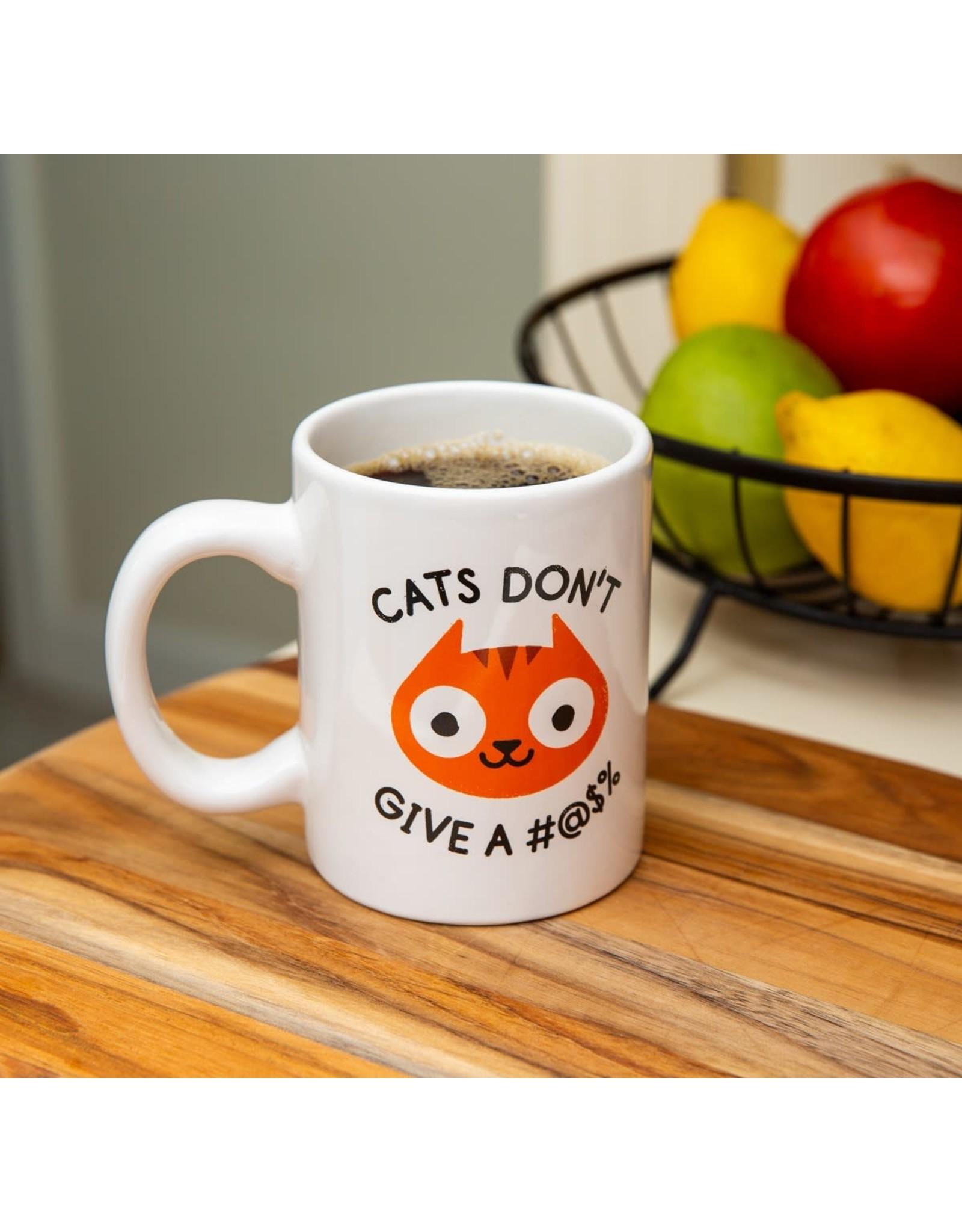 Bigmouth Mug - Cats Don't Give A #@$%