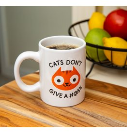 Bigmouth Mug - Cats Don't Give A #@$%
