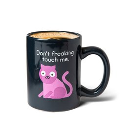 Bigmouth Mug - Don't Freaking Touch Me - Cat