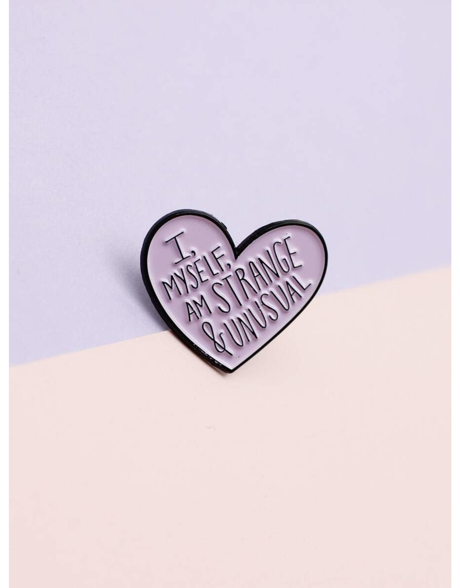 Shein Pin - I Myself Am Strange And Unusual