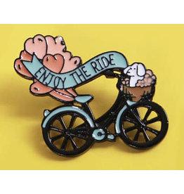 Pin - Enjoy The Ride Bike