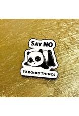 Pin - Say No To Doing Things Panda