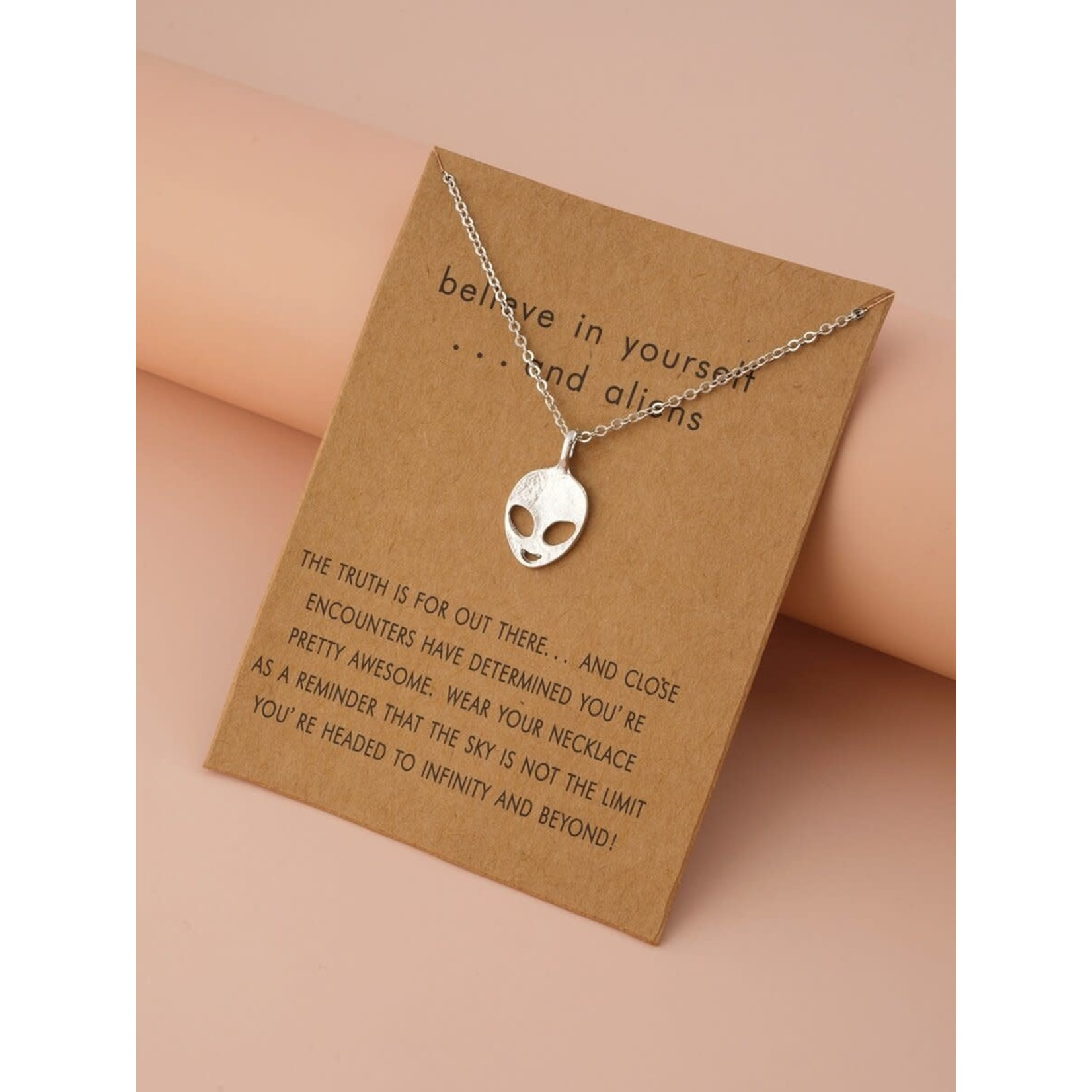 Necklace - Believe In Yourself And Aliens
