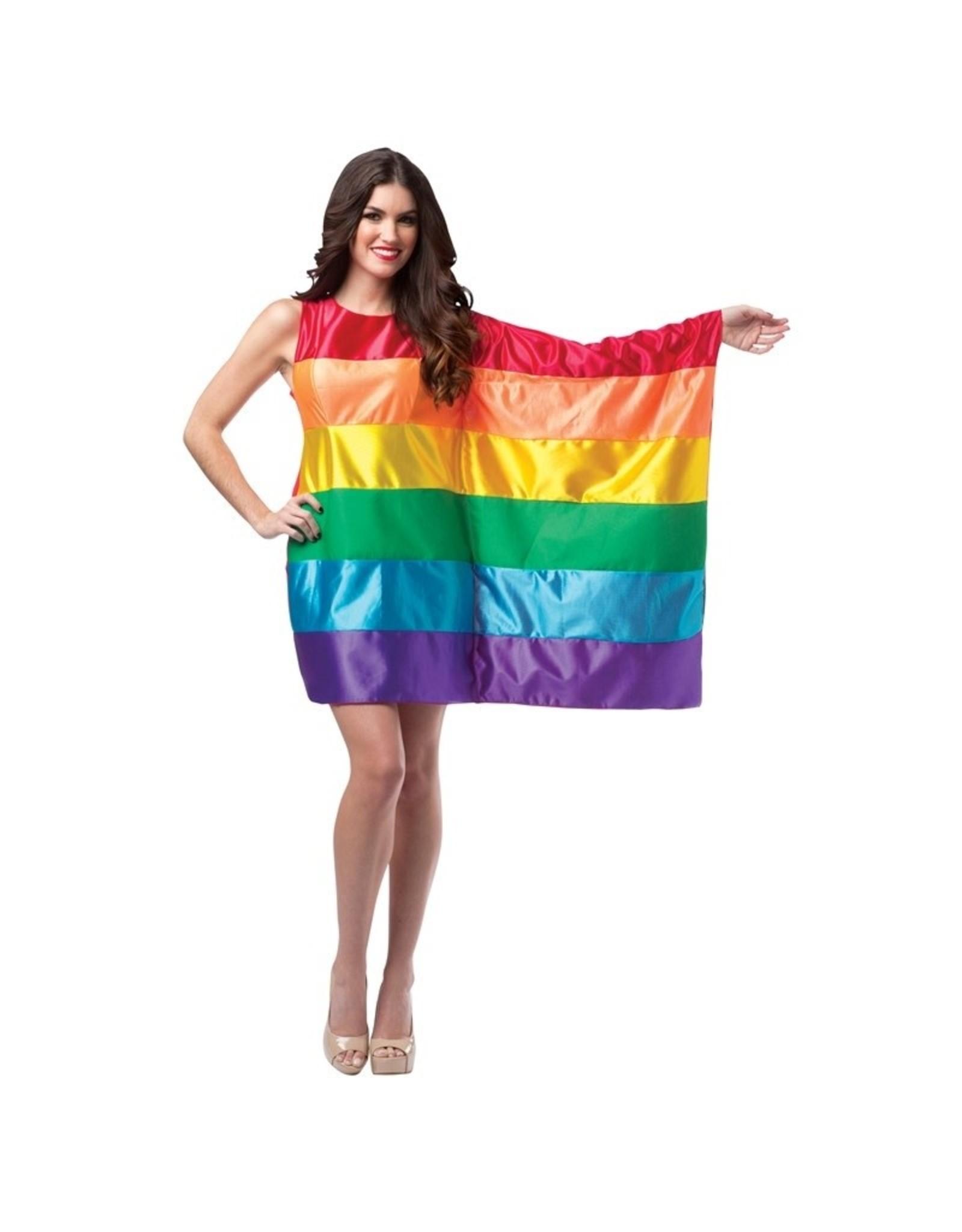 Rasta Imposta Rainbow Flag Costume