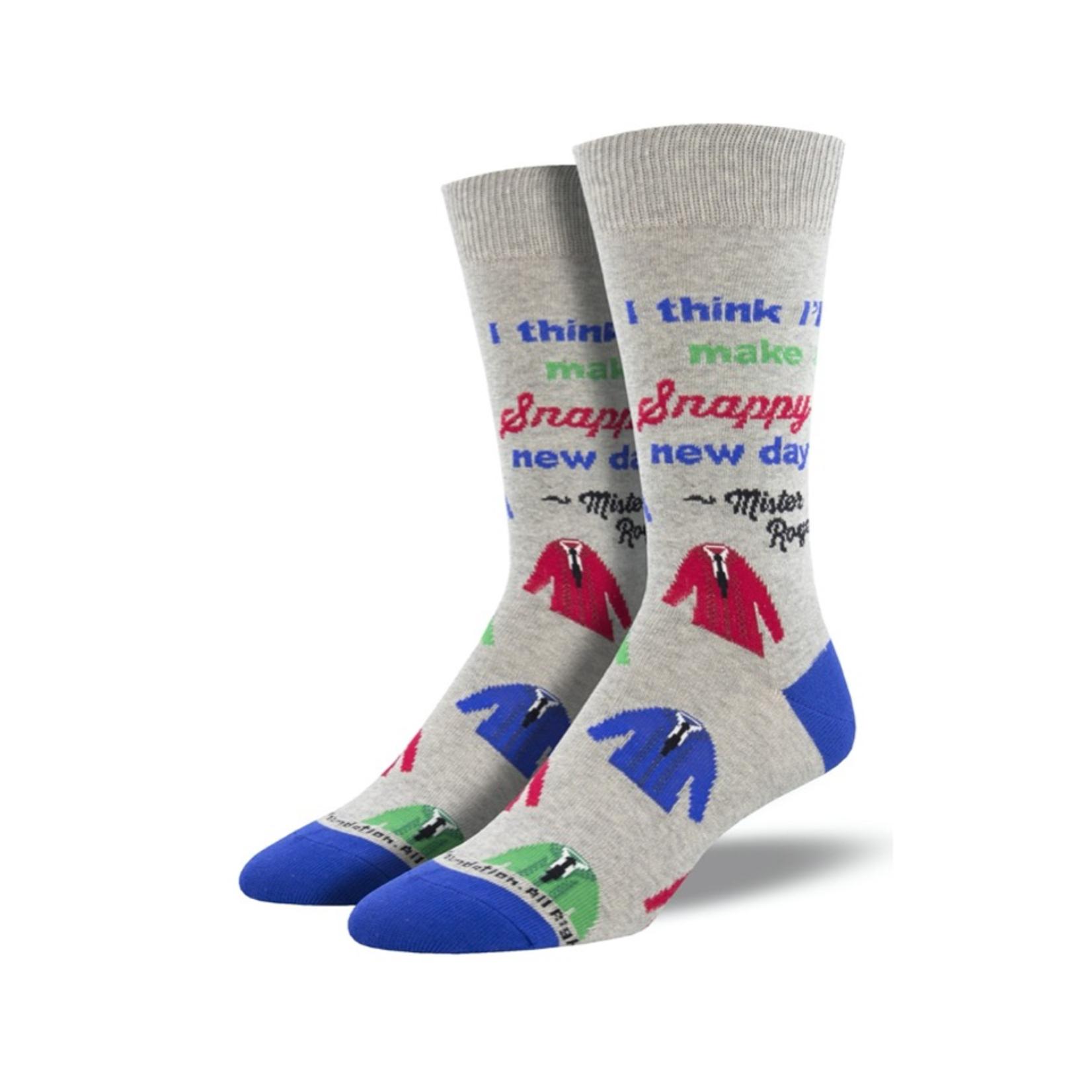Socks (Womens)  - Snappy Dresser Mister Rogers