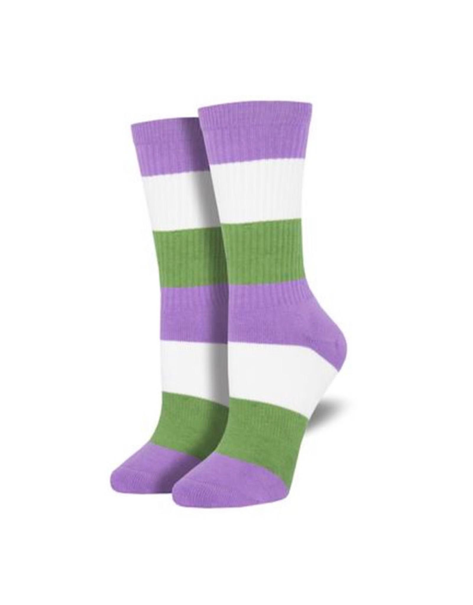 Socks (Smaller sizes) - Genderqueer Pride