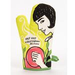 Oven Mitt - Hot Vegetarian Action