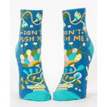 Socks (Womens) (Ankle) - Don't Push Me