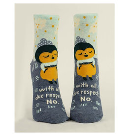 Socks (Womens) (Ankle) - All Due Respect. No