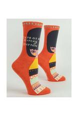 Socks (Womens) - Cute As A Bitchy Button